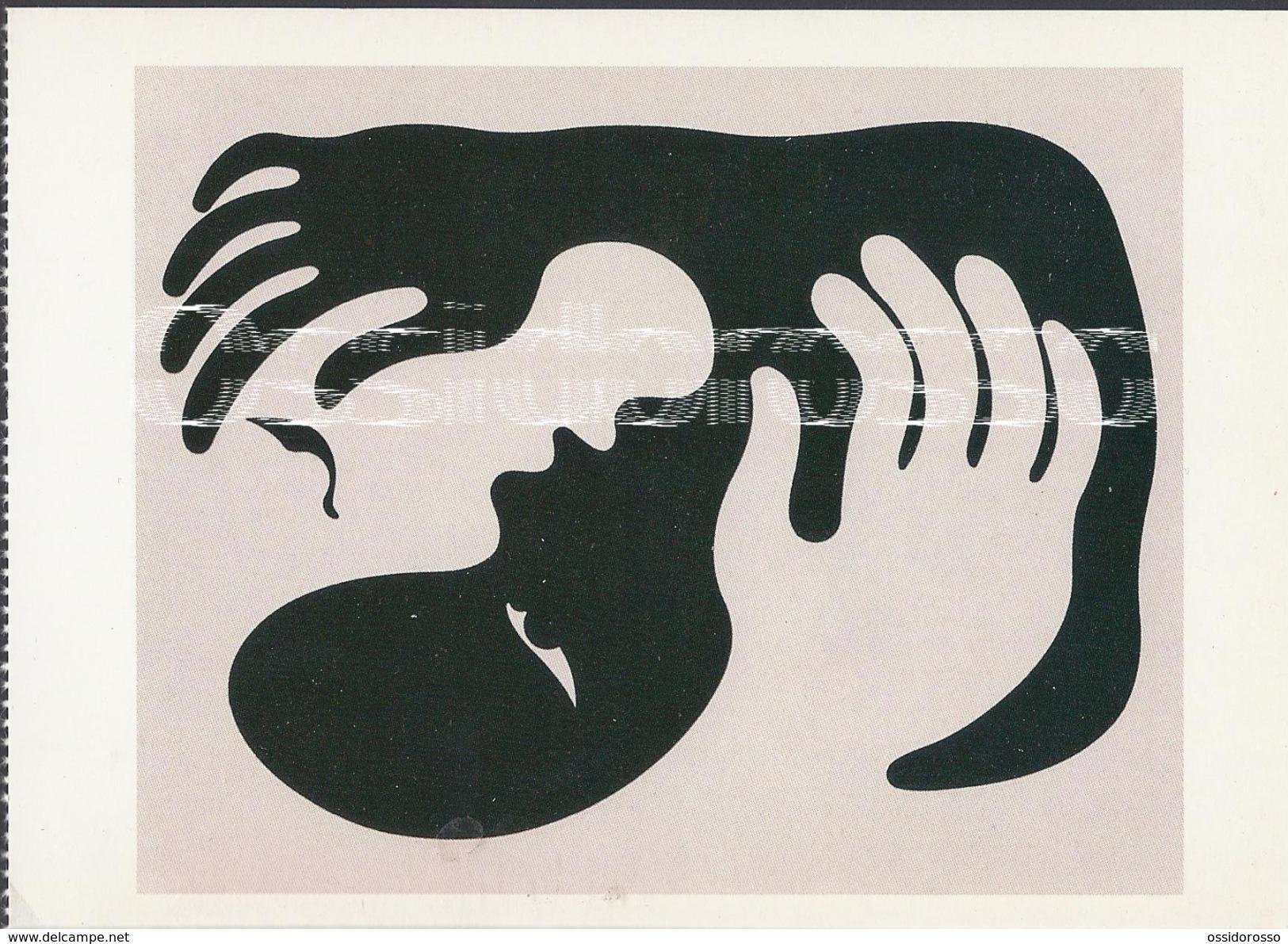 Victor Vasarely -  Anti Racist  Drawing- 1939 - Peintures & Tableaux