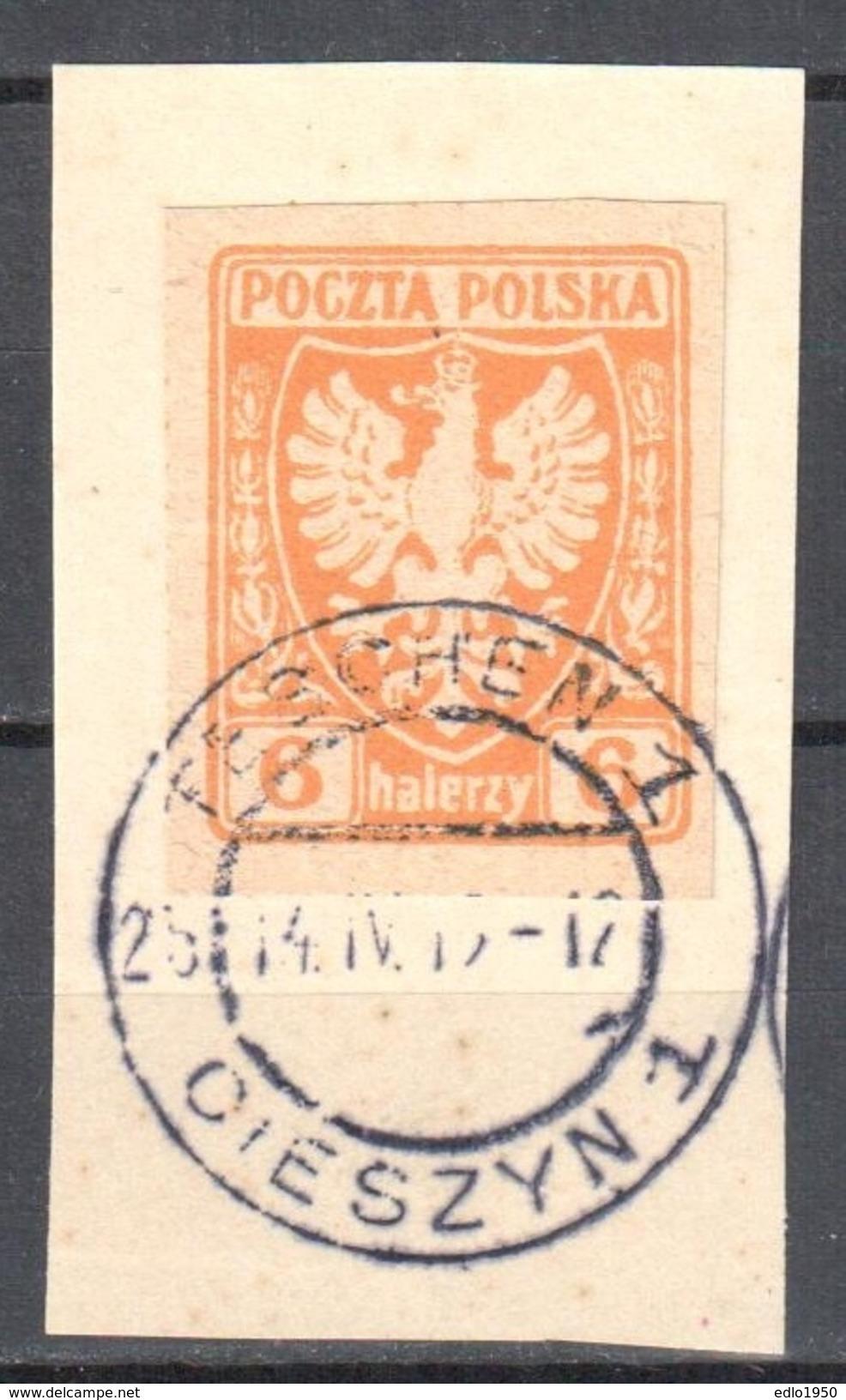 Poland 1919 - Polish Eagle - Mi.57 - Used - 1919-1939 Republik