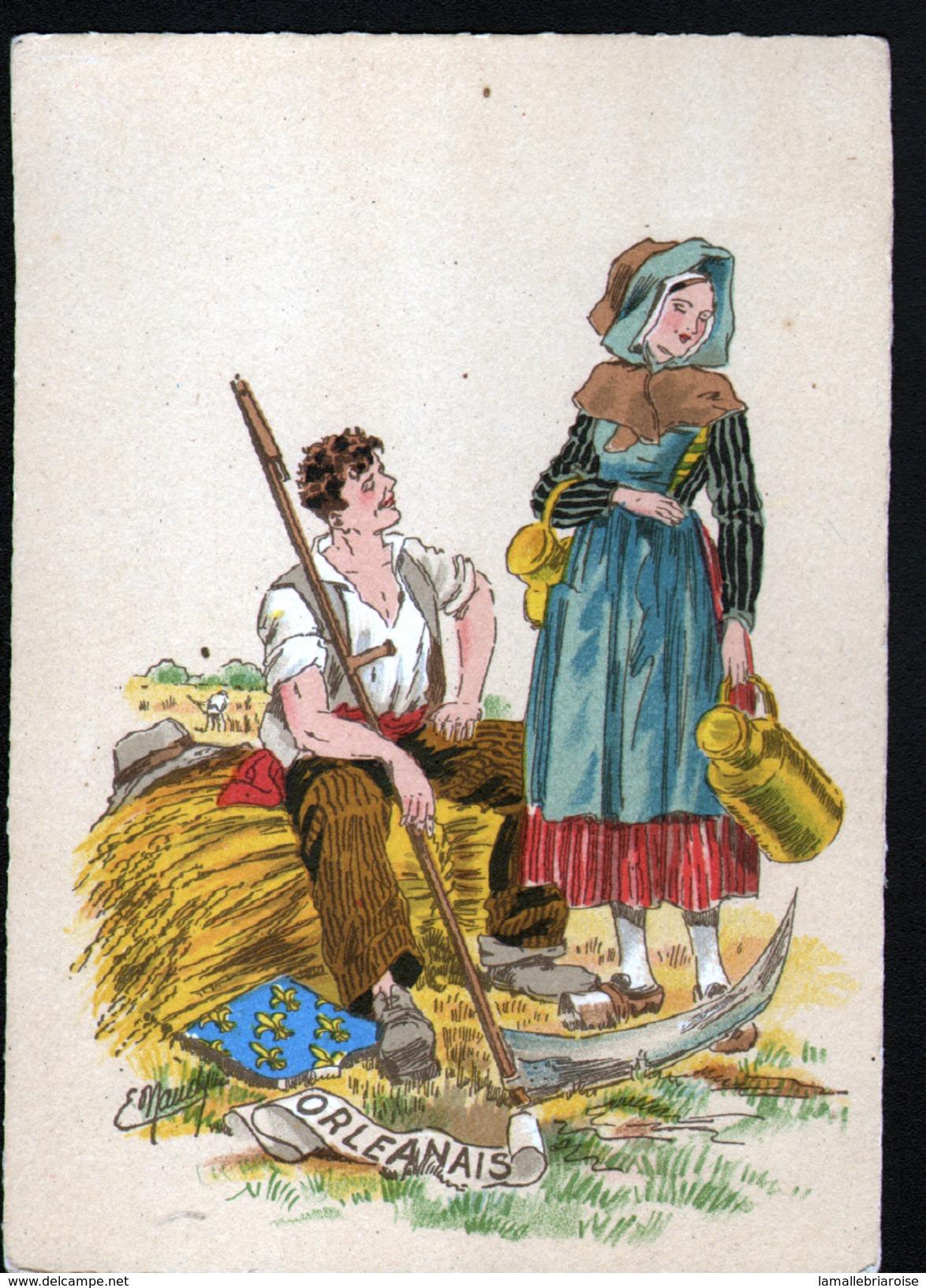 BARRE DAYEZ, Illustrateur E. Naudy, Orleanais, Heraldique - Naudy