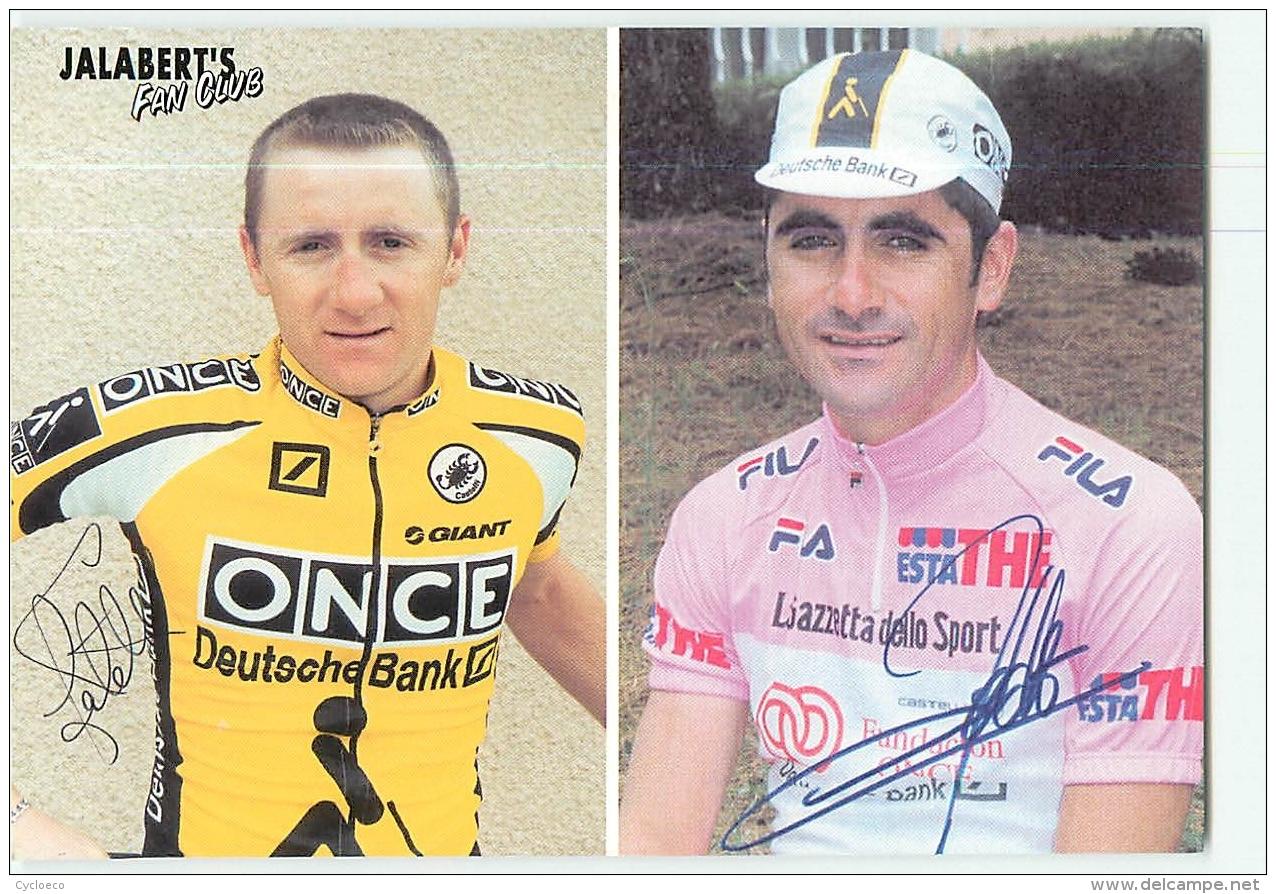 Nicolas Et Laurent JALABERT . Cyclisme. 2 Scans. - Radsport