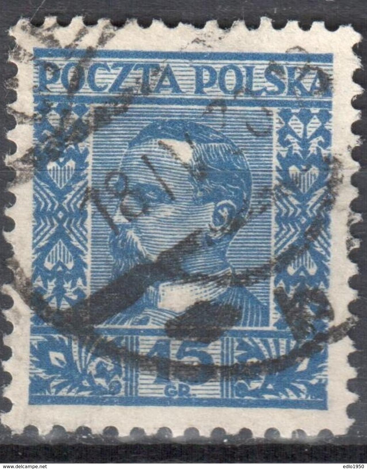 Poland 1928 Henryk Sienkiewicz - Mi. 259 - Used - Gebraucht