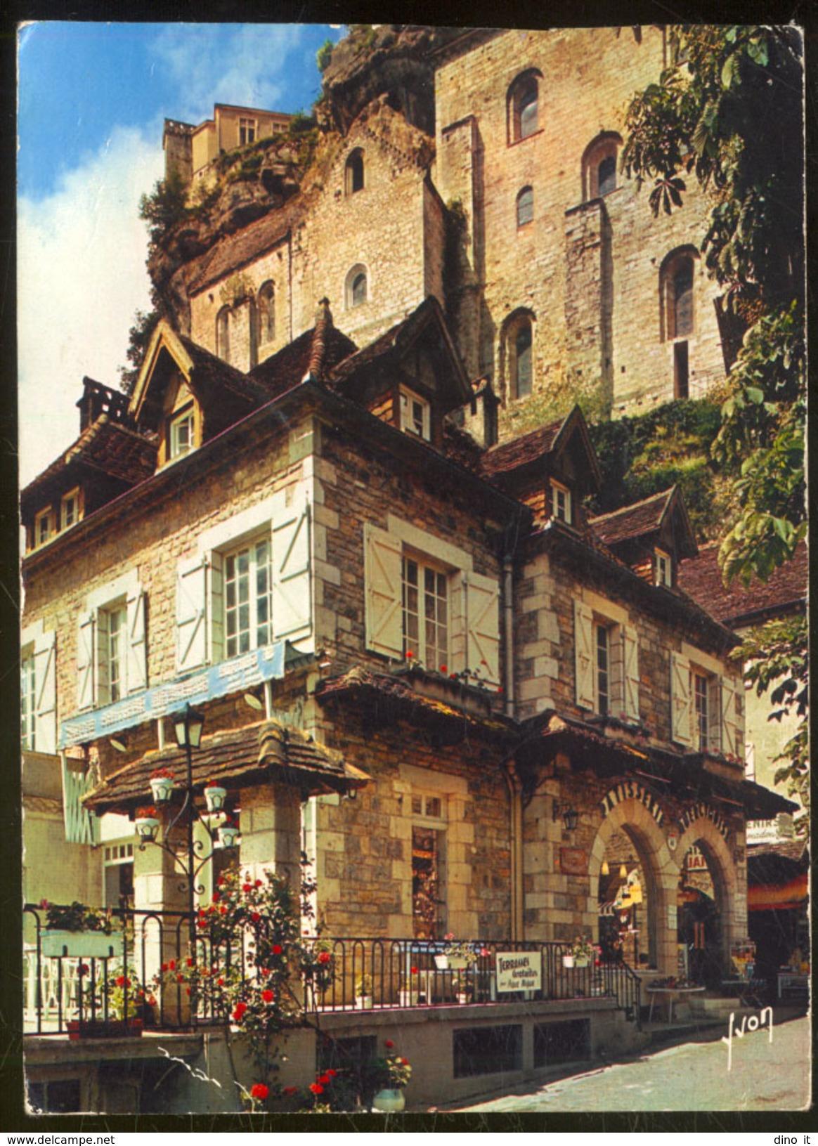 46 - ROC-AMADOUR (Lot) .- Grande Pâtisserie Quercynoise. Spécialité Régionale - Médaille D' Or. - Rocamadour