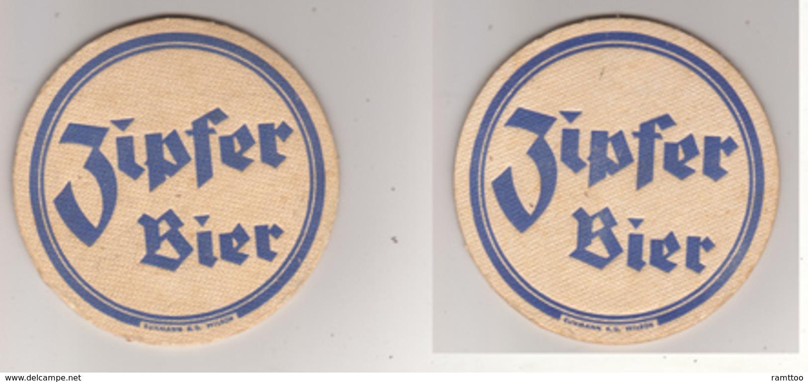 Zipfer Brauerei Österreich Bier ( Dm 8cm ) - Bierdeckel