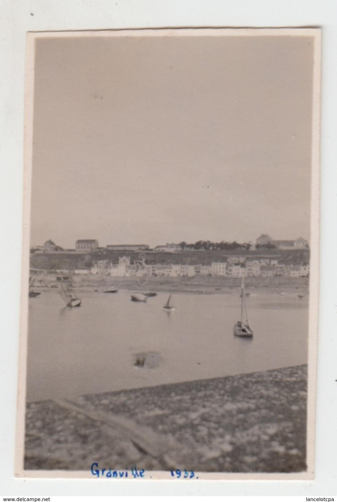 PHOTO 1933 / GRANVILLE - Places