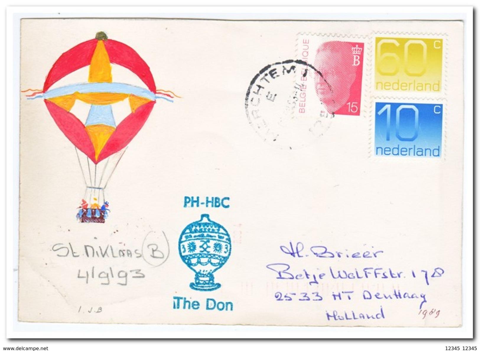 Ballonvaart 04-09-1993 St. Niklaas België - Luchtballons