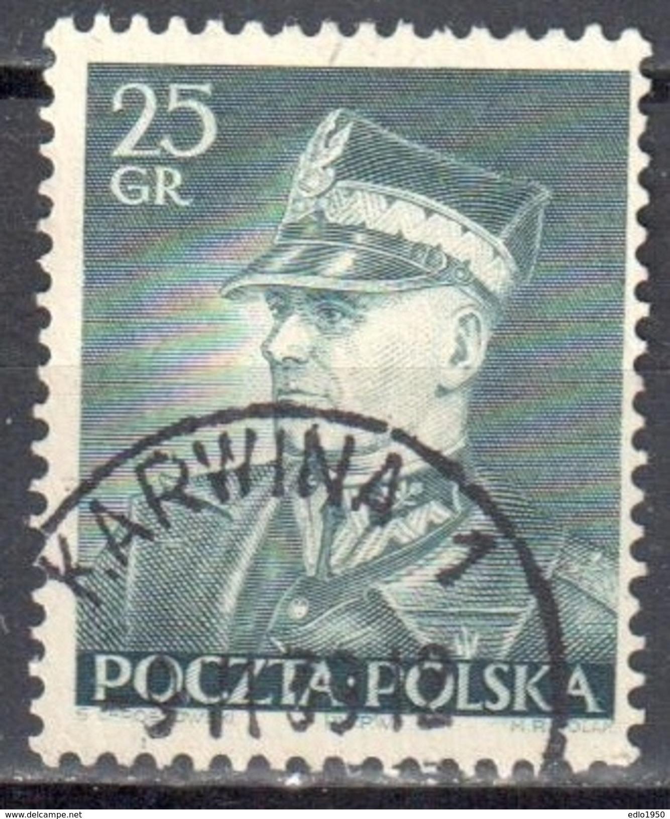 Poland 1937 Marshal Smigly - Rydz - Mi. 319 - Used - 1919-1939 Republik