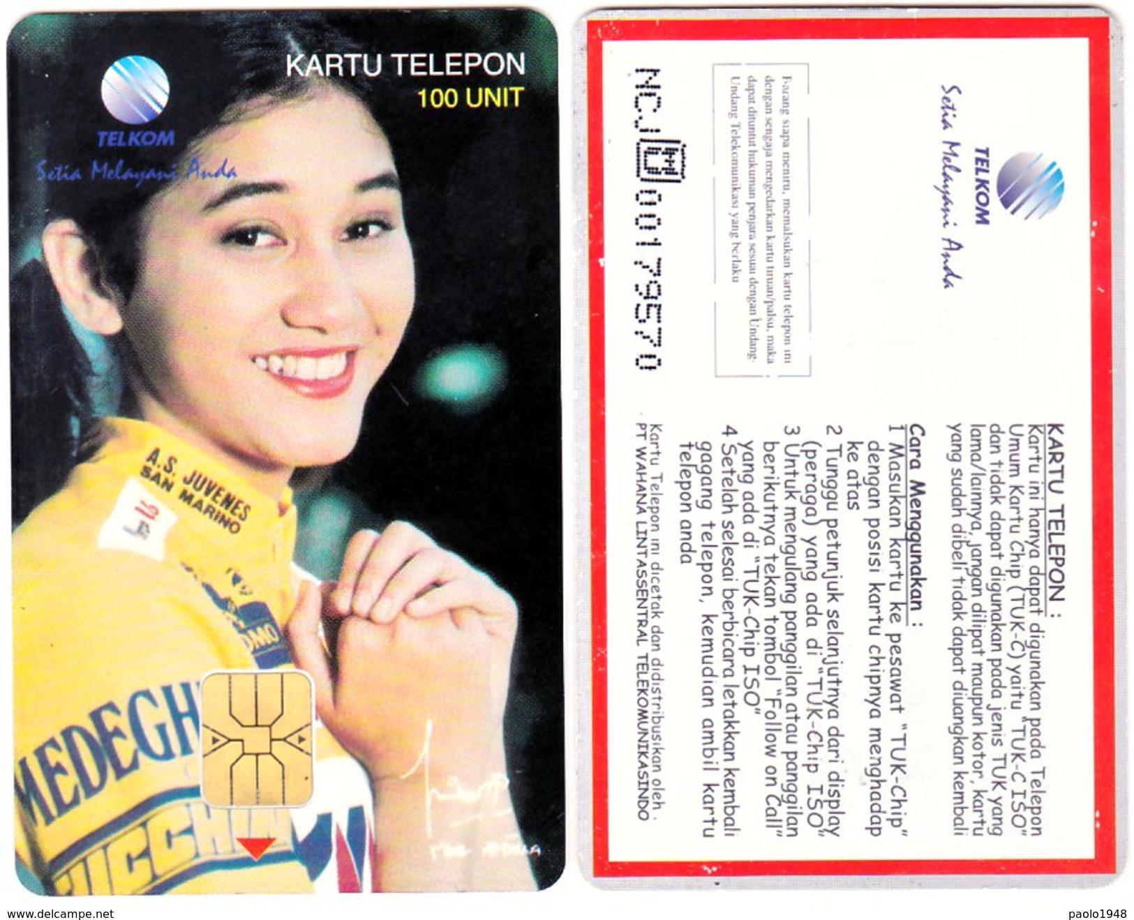 INDONESIA INDONESIEN -SP 63 Nike Ardilla 1000ex. - Fine Used - RRR - Indonesia