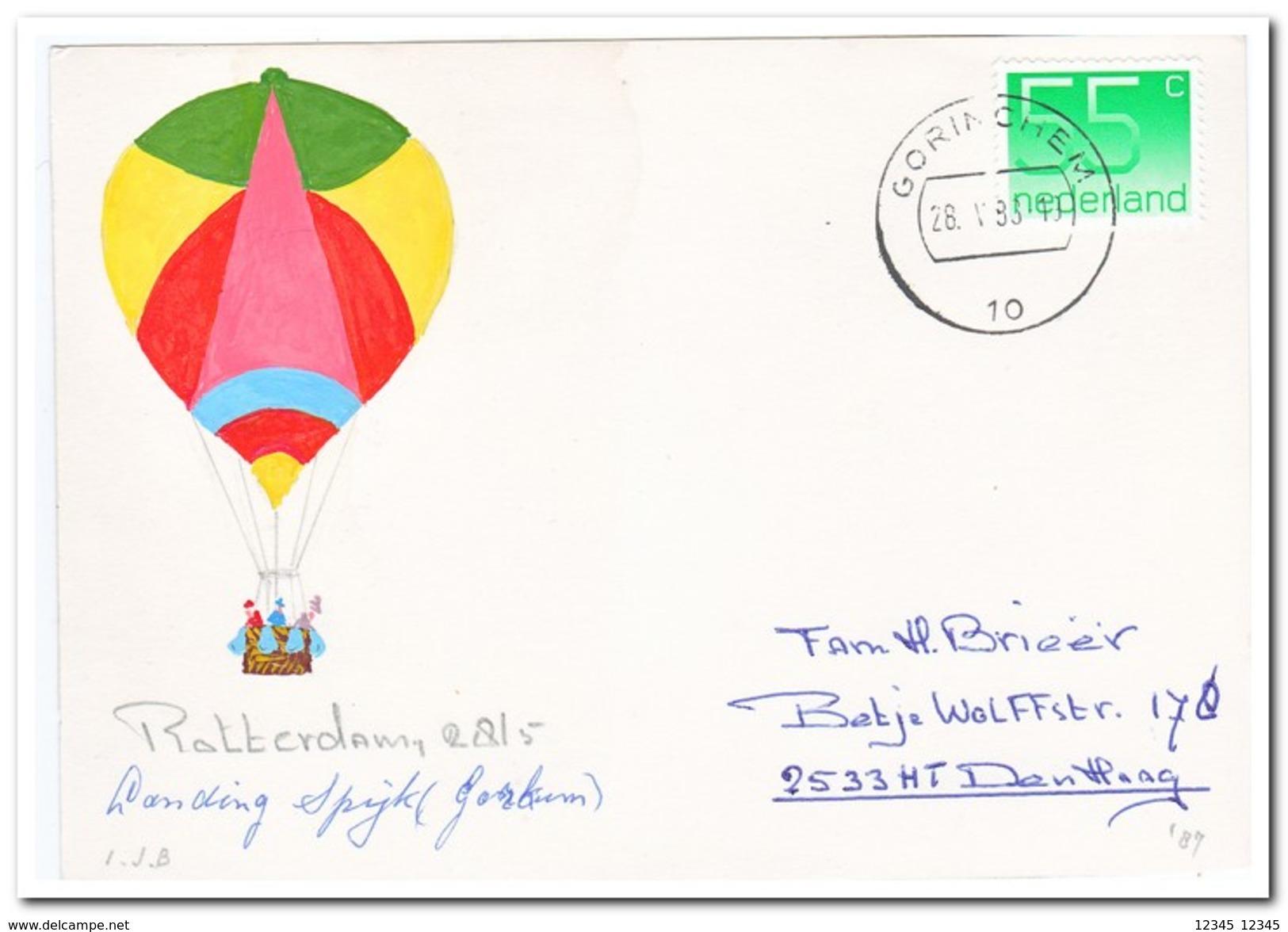 Ballonvaart Rotterdam 28-5-1988 - Luchtballons