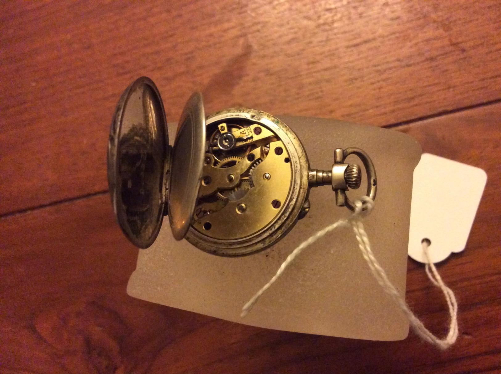 Montre Gousset  (argent) - Horloge: Zakhorloge