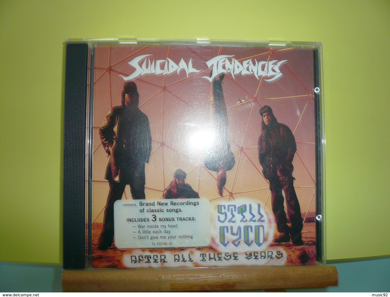 """Suicidal Tendencies""""CD Album""""Still Cyco After These Years"""" - Hard Rock & Metal"""
