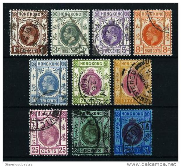 Hong Kong (Británico) - LOTE (10 Sellos)  En Usado - Collections, Lots & Séries