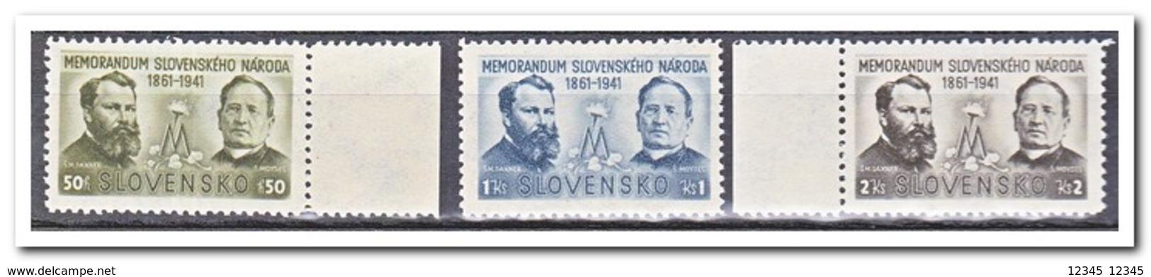 Slowakije 1941, Postfris MNH, 80 Anniversary Of The Handover Of A Memorandum To Emperor Franz Josef - Slovakia