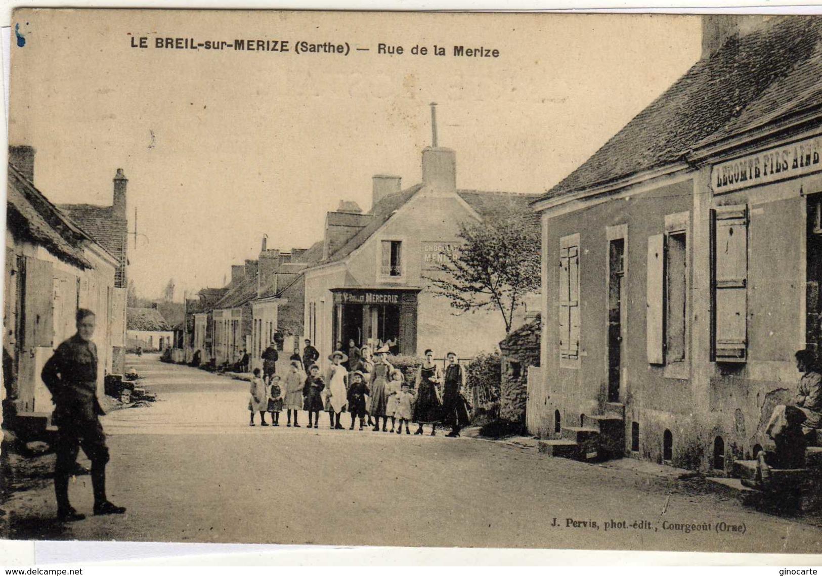 Le Breil Sur Merize Rue De La Merize - Non Classés