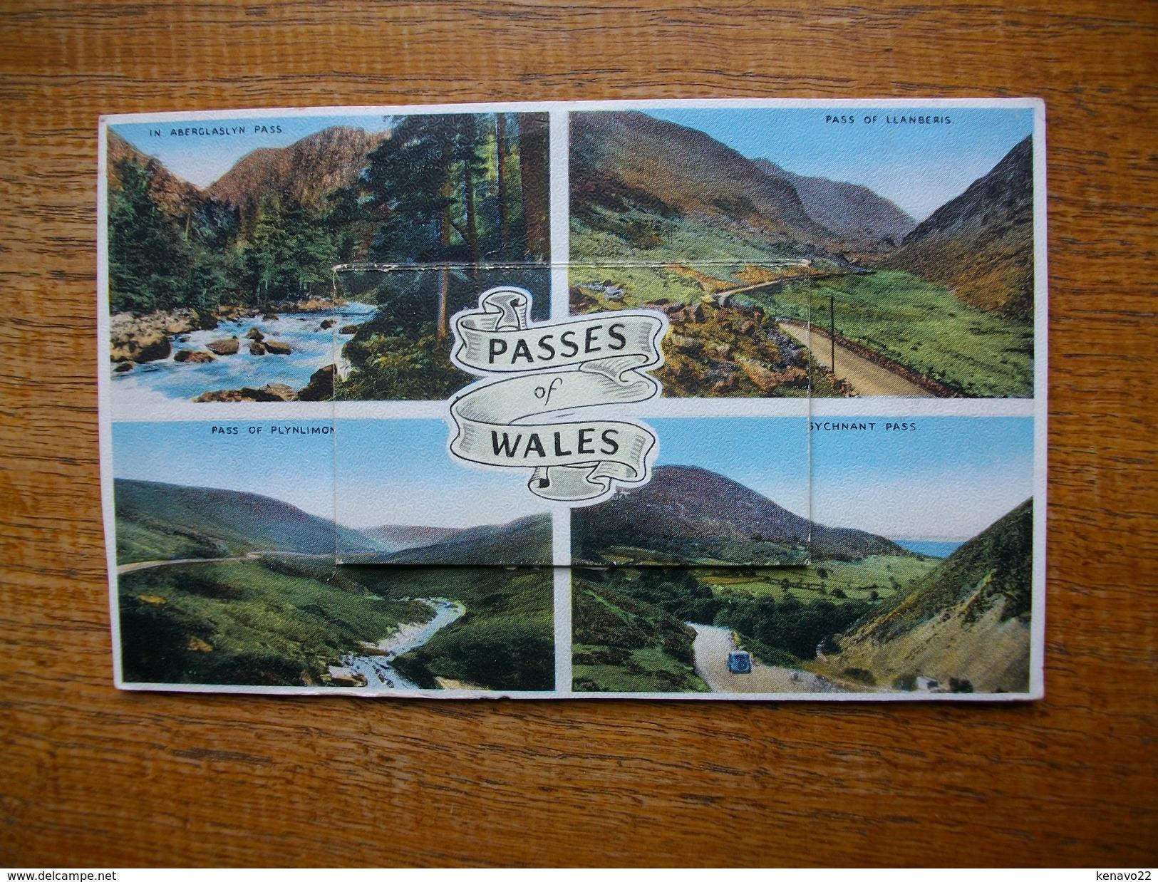 , Carte Assez Rare , Souvenir Of North Wales , Multi-vues - Autres