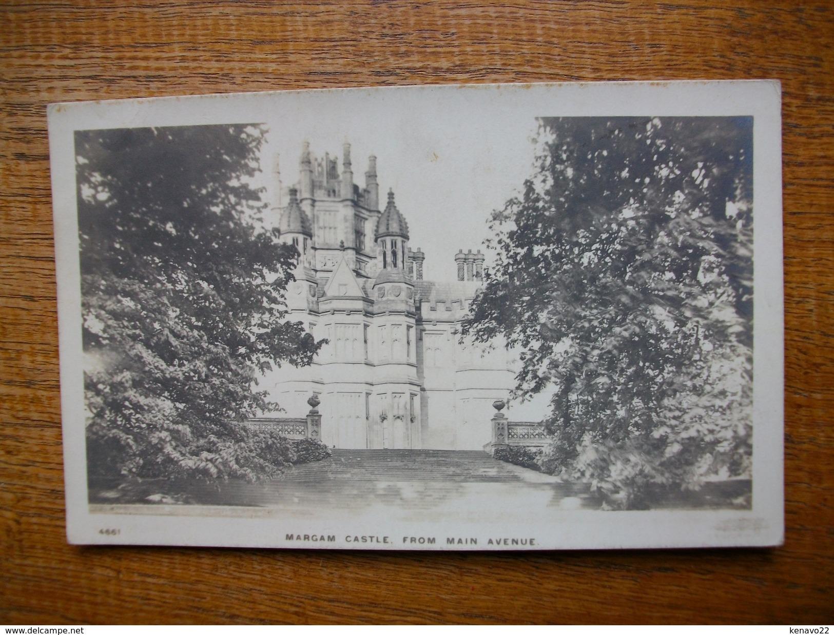 Margam Castle , From Main Avenue - Pays De Galles