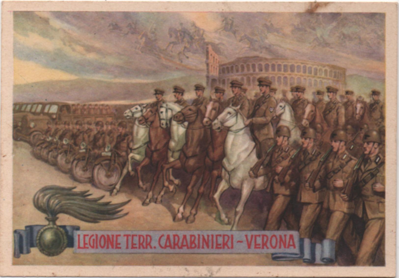 Legione Territoriale Dei Carabinieri Di Verona - Non Viaggiata - Reggimenti