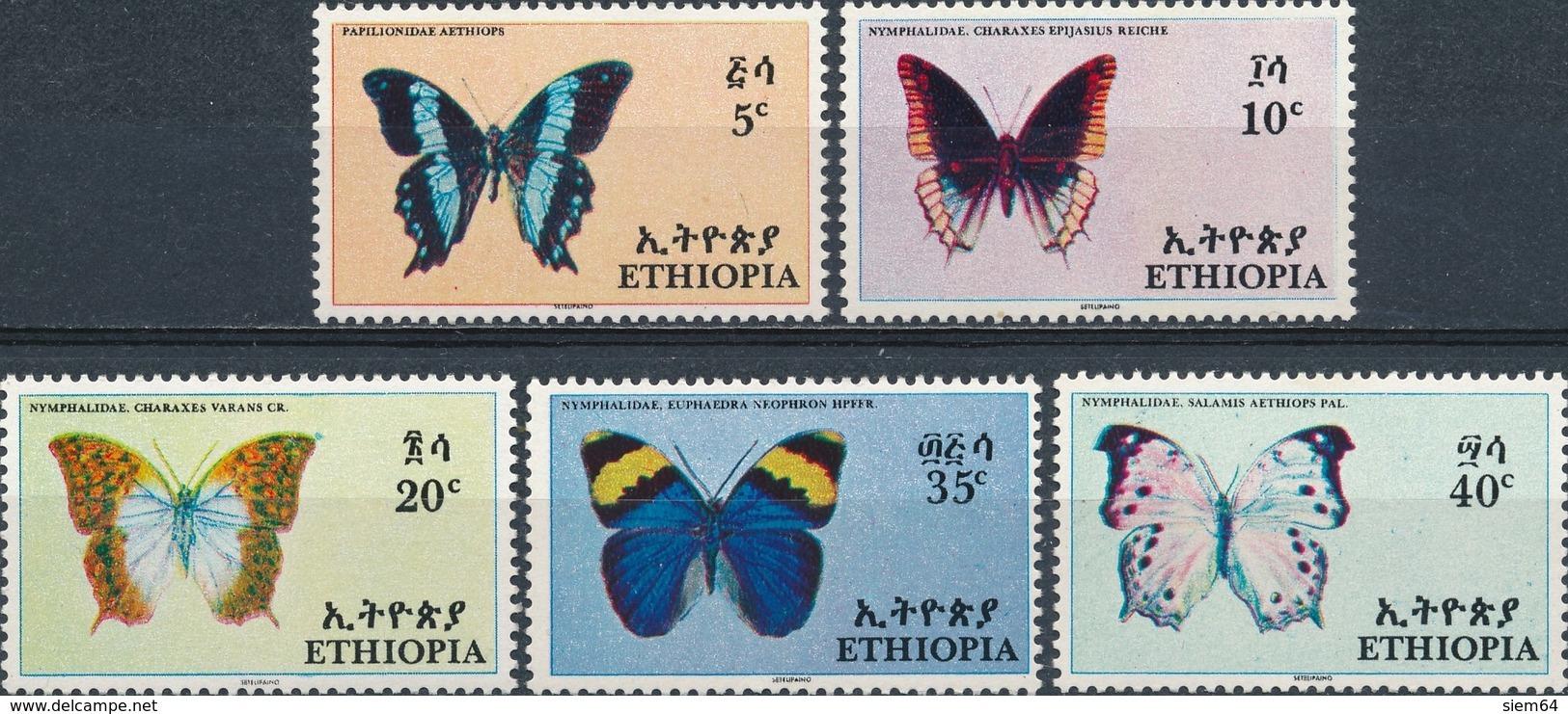 Ethiopia  Butterflies - Vlinders