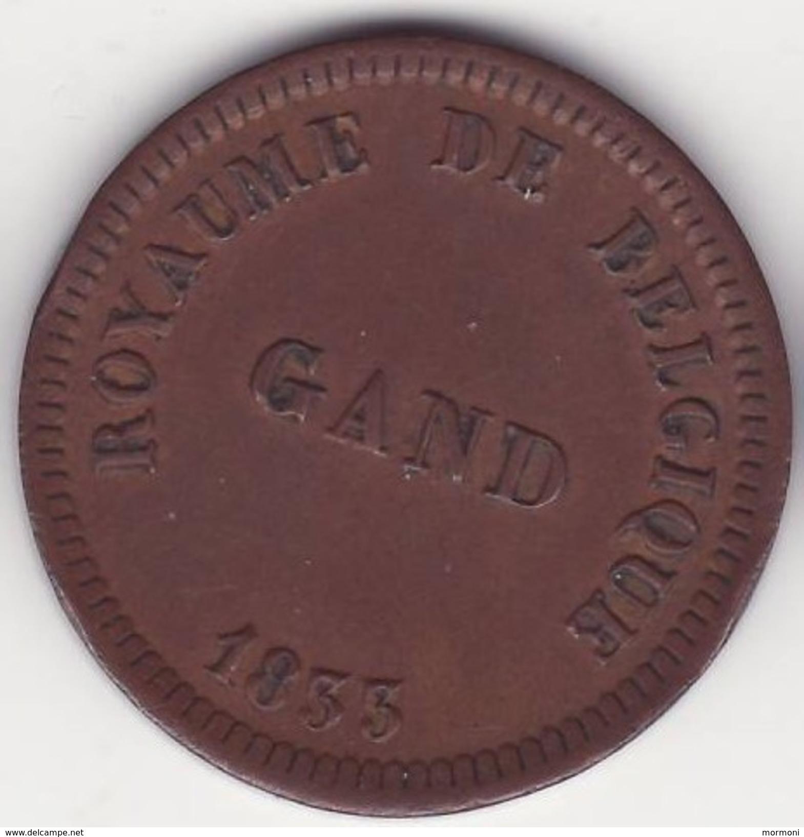 Belgique - Gand - 25 Cent. 1835 - Léopold I - Prison - Belgique