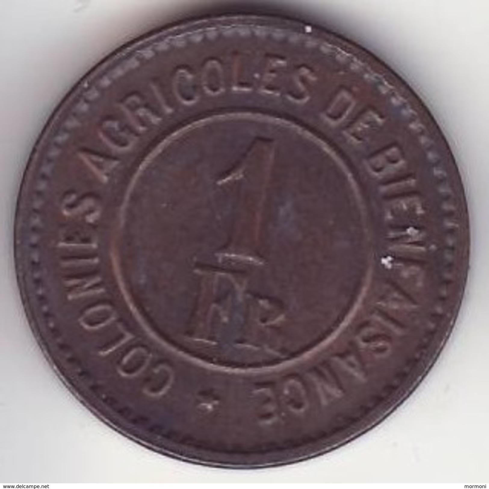 Belgique - Hoogstraten Merxplas - Prison - Colonie Agricole - 1 Franc - Belgique