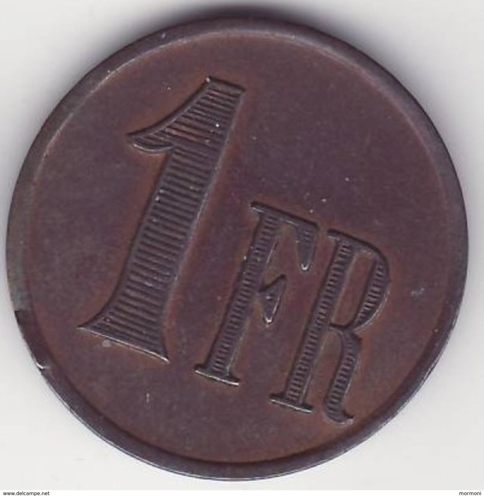 Belgique - Rekheim - Asile D'aliénés - 1franc - Rare - Belgique