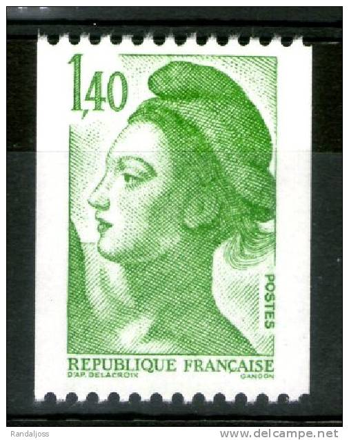 N° 2191** Roulette_ - 1982-90 Liberté De Gandon