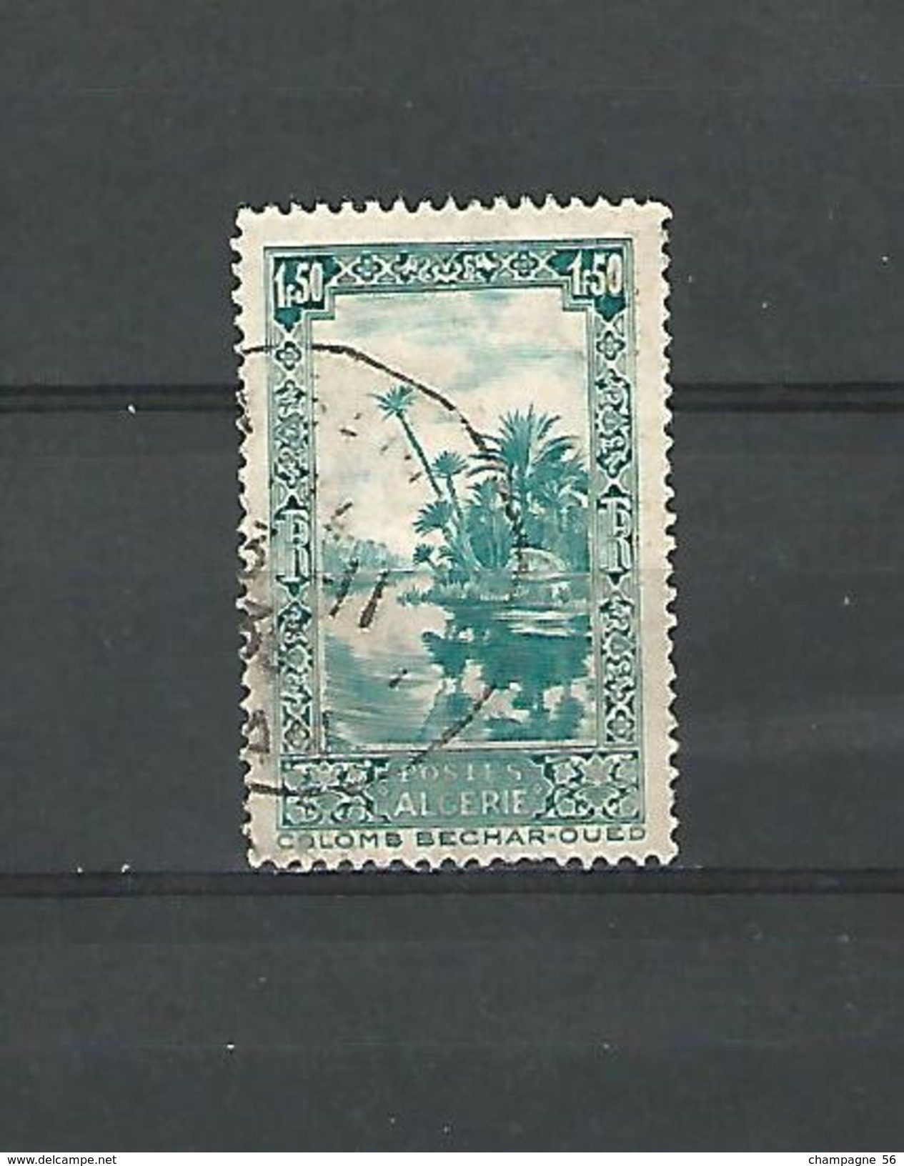 1936   COLOMB BECHAR  OUED    OBLITERE DOS CHARNIERE TRACE GOMME - Algeria (1962-...)