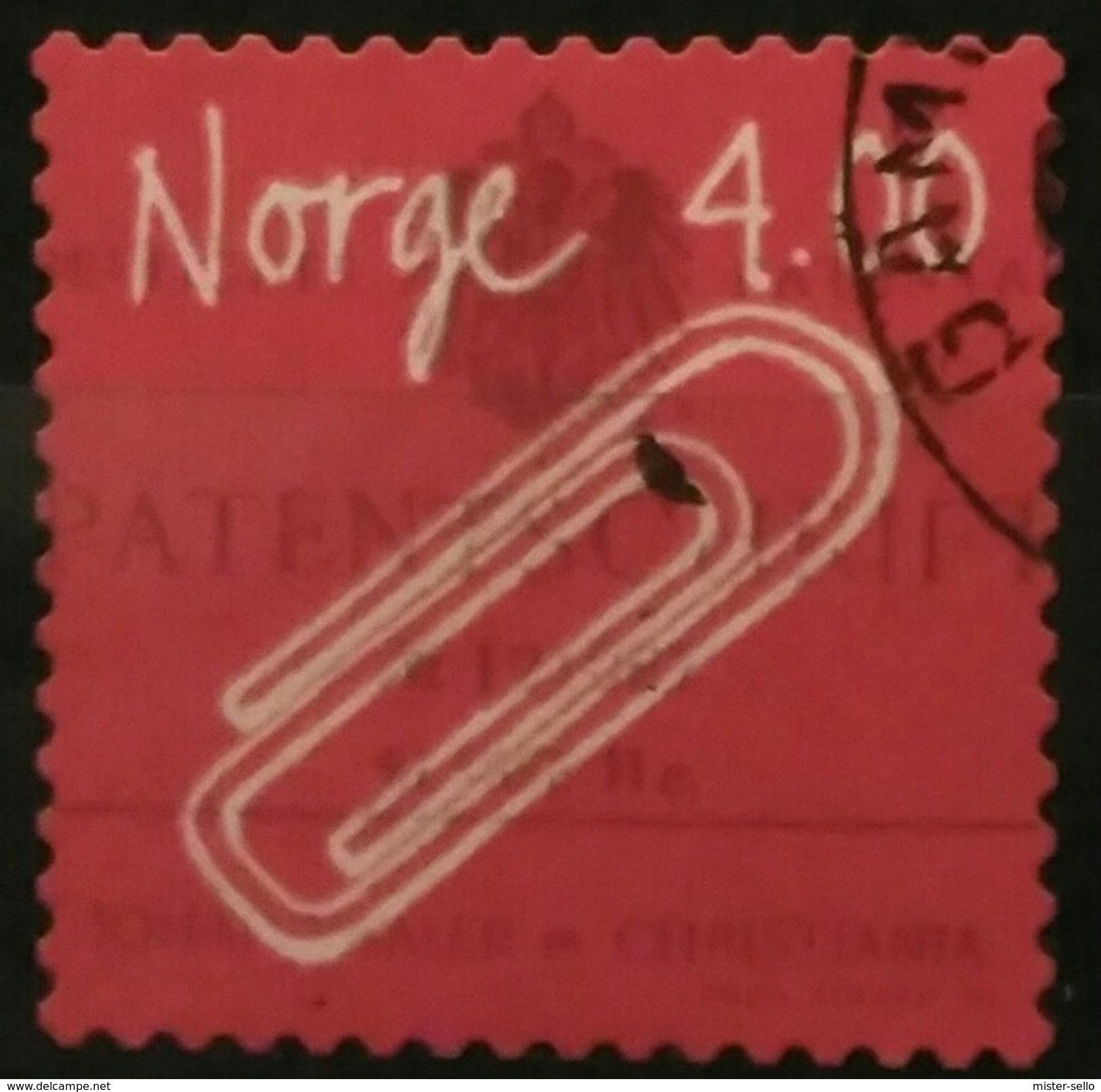 NORUEGA 1999 Norwegian Inventions - Self-Adhesive. USADO - USED. - Norwegen