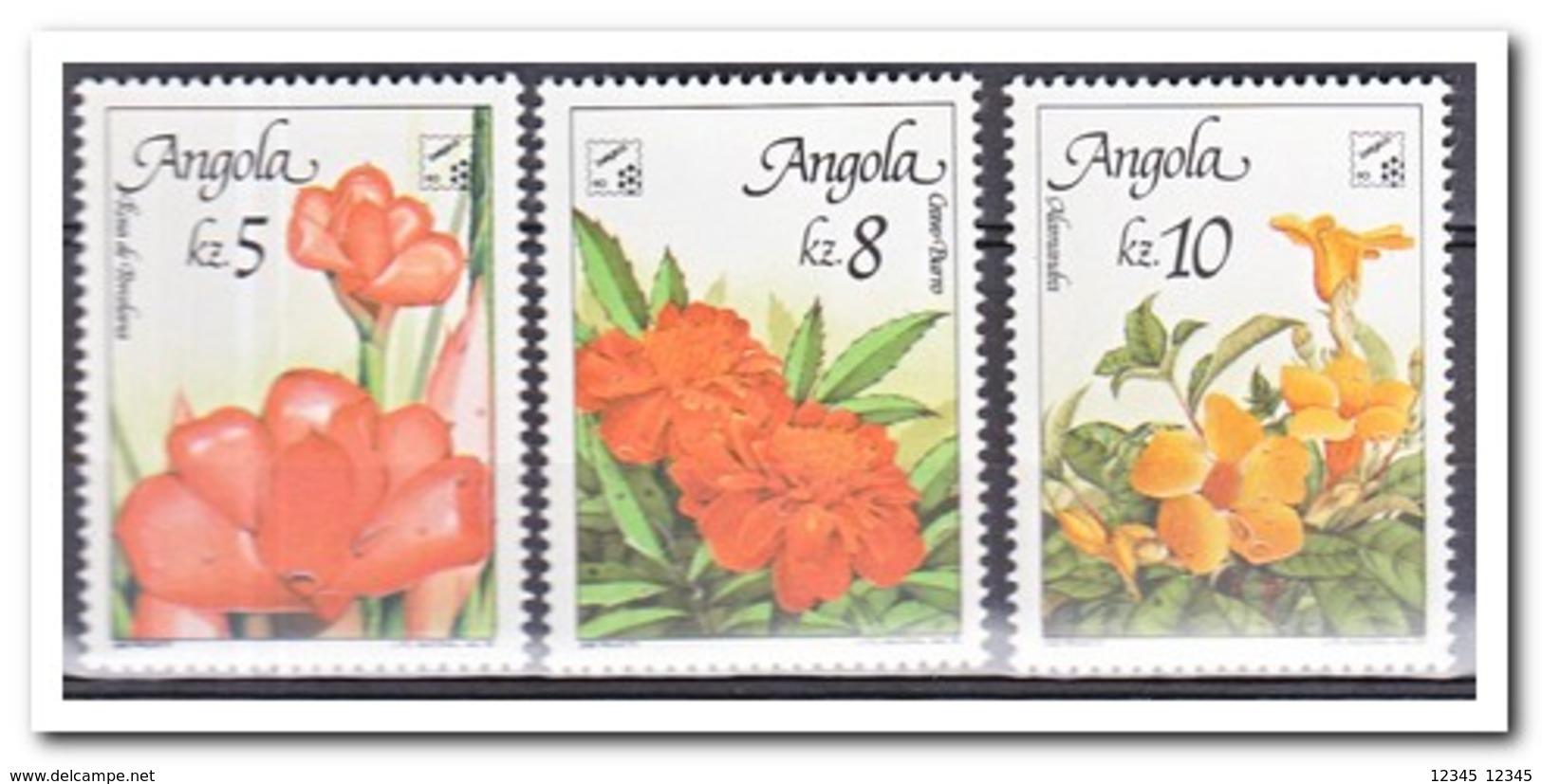 Angola 1990, Postfris MNH, Flowers - Angola