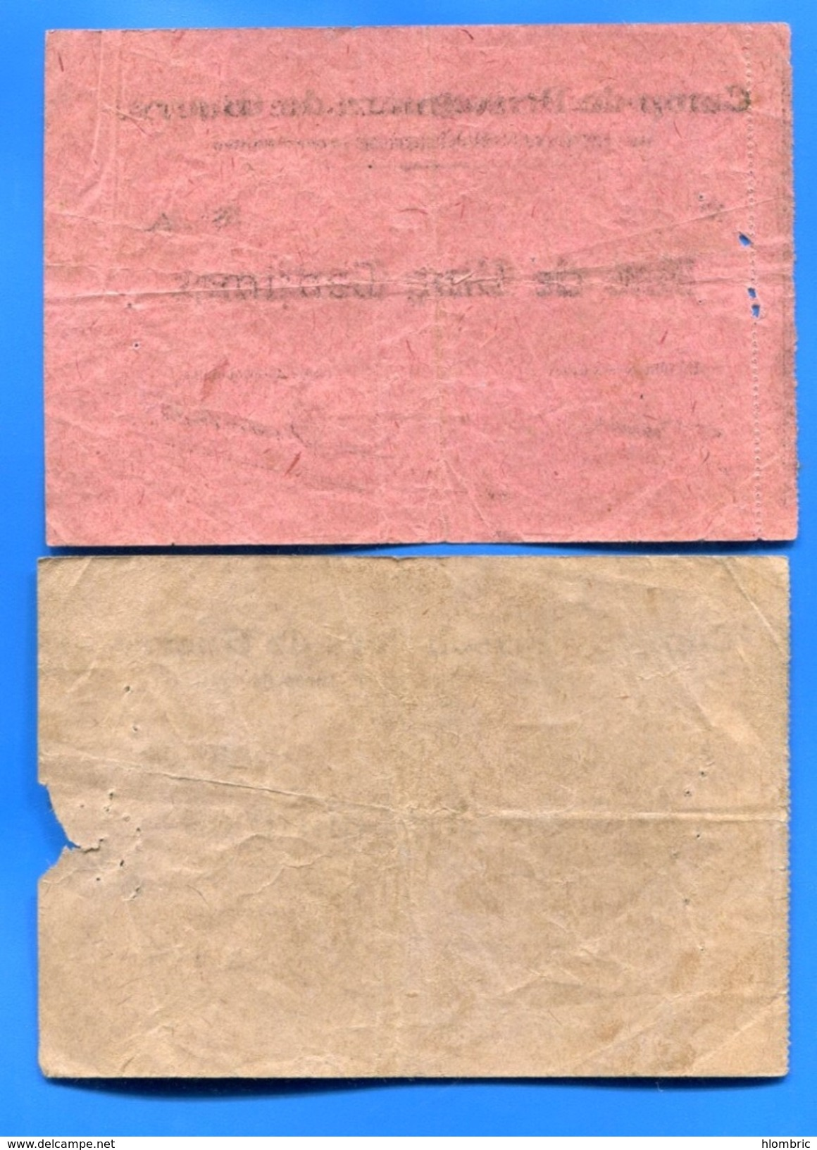 P G  Roche -  Maurige  5  Cents  +  10  Cents  44/16 - Bons & Nécessité