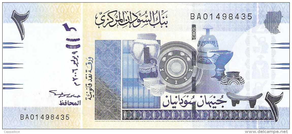 SOUDAN   2 Pounds   9/7/2006   P. 65a   UNC - Sudan