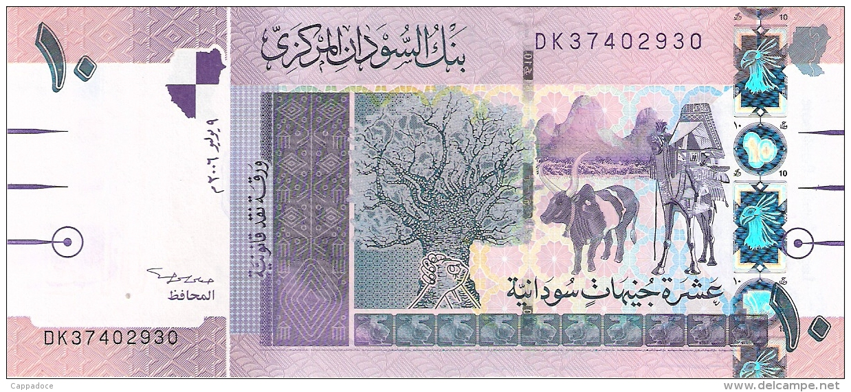 SOUDAN   10 Pounds   9/7/2006   P. 67a   UNC - Sudan