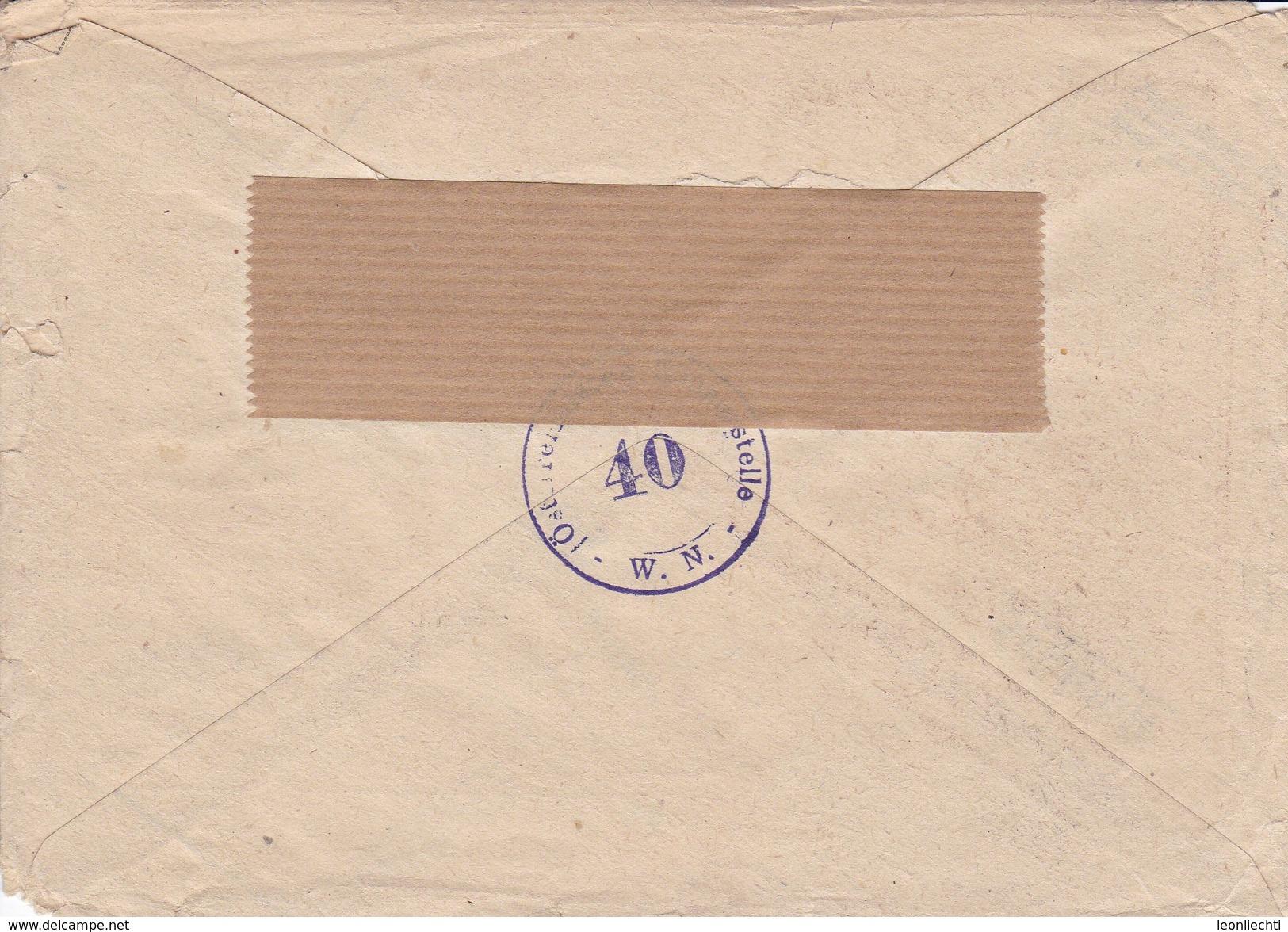 ÖSTERREICH. 1946.  Mi: 749 + 765 + 784 . R Wien 1 031 Aa. Nach Subingen ( Solothurn) - Entiers Postaux