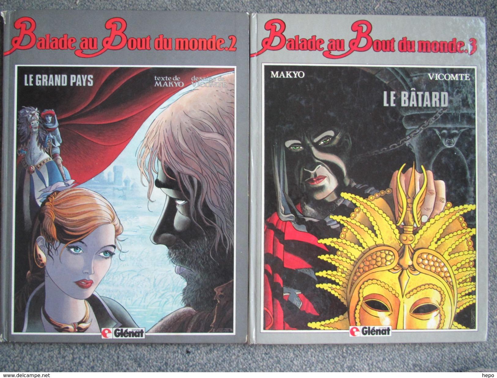 Vicomte - Balade Au Bout Du Monde Tomes 2 Et 3 - BD EO 1984 Et 1985 - Livres, BD, Revues