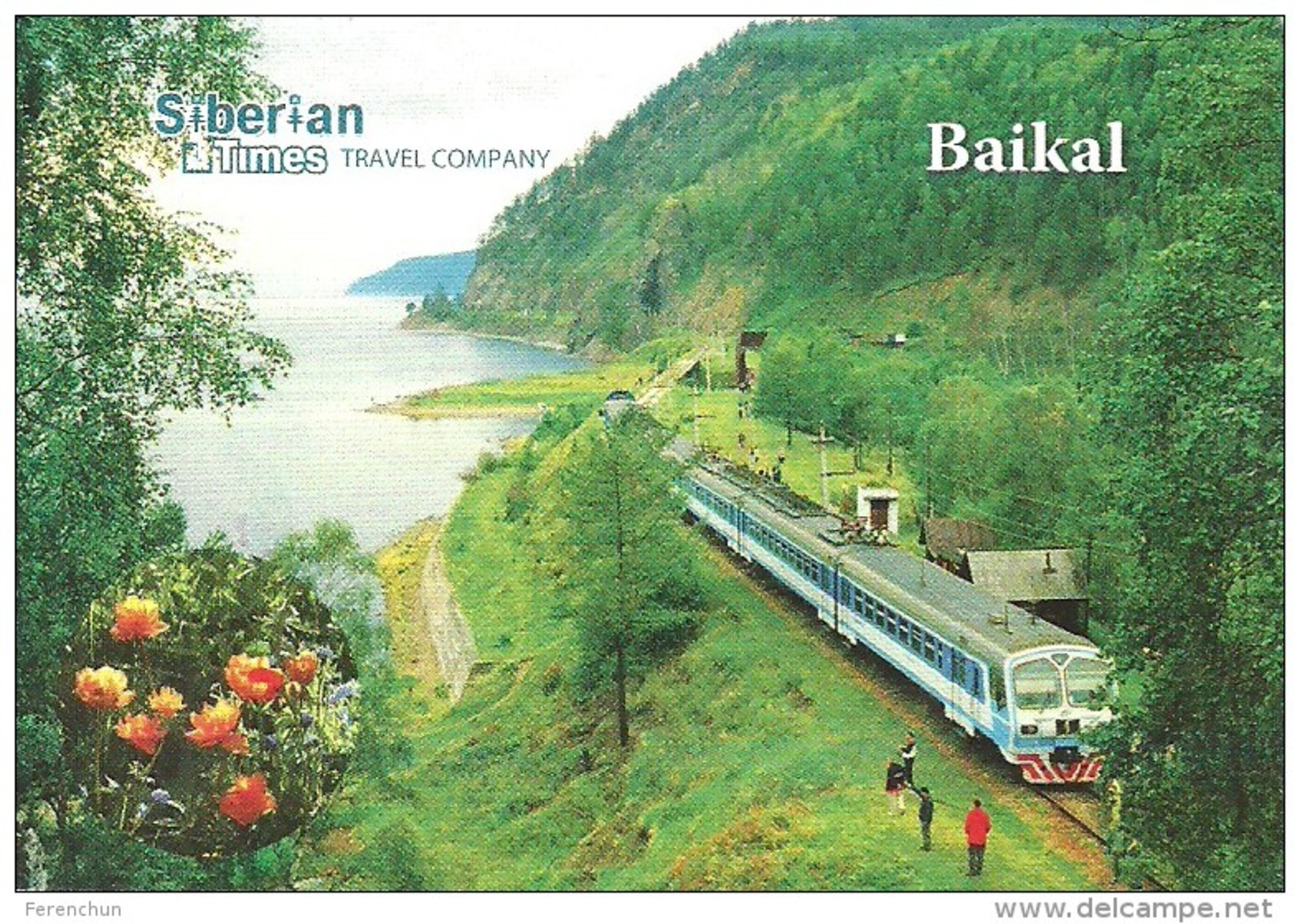 RAIL * RAILWAY * RAILROAD * TRAIN * RAILCAR * LAKE BAIKAL * IRKUTSK * SIBERIA * CALENDAR * Siberian Times 2015 * Russia - Calendari