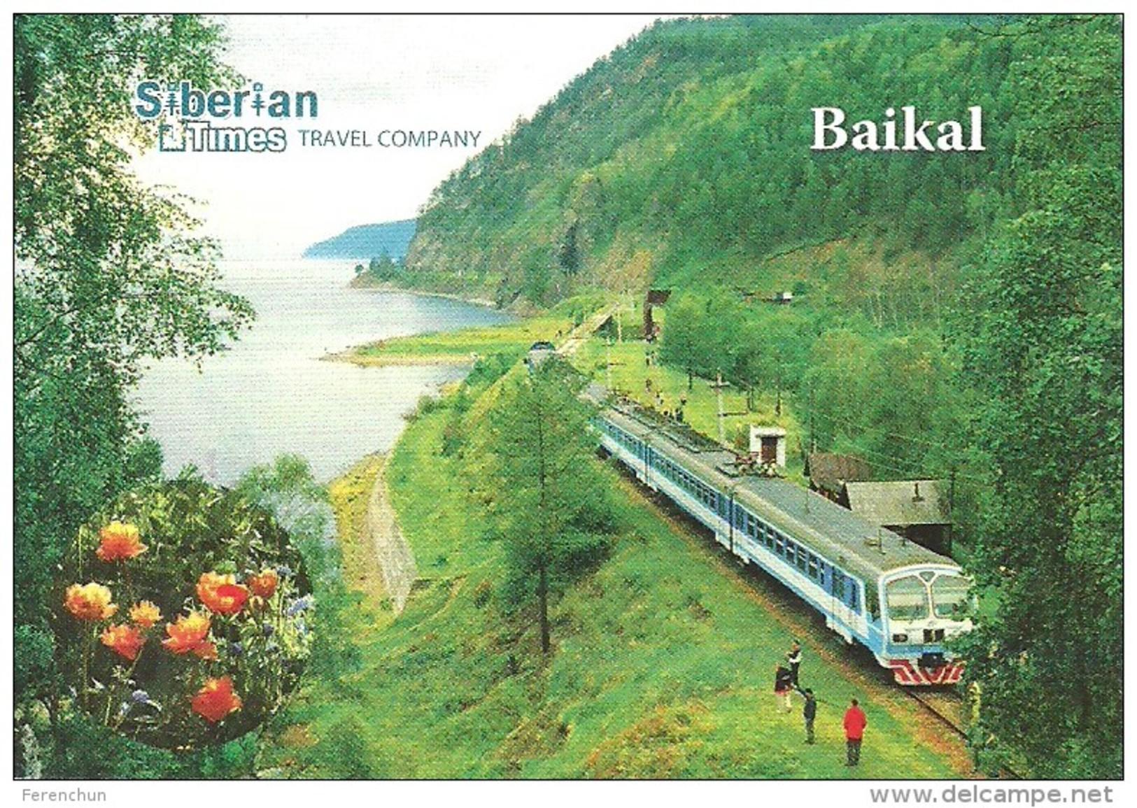 RAIL * RAILWAY * RAILROAD * TRAIN * RAILCAR * LAKE BAIKAL * IRKUTSK * SIBERIA * CALENDAR * Siberian Times 2015 * Russia - Formato Piccolo : 2001-...