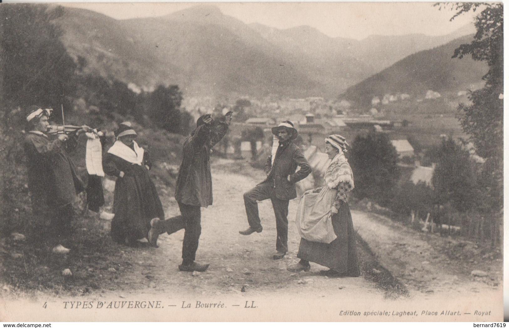 63  Types D'auvergne La Bourree - Other Municipalities