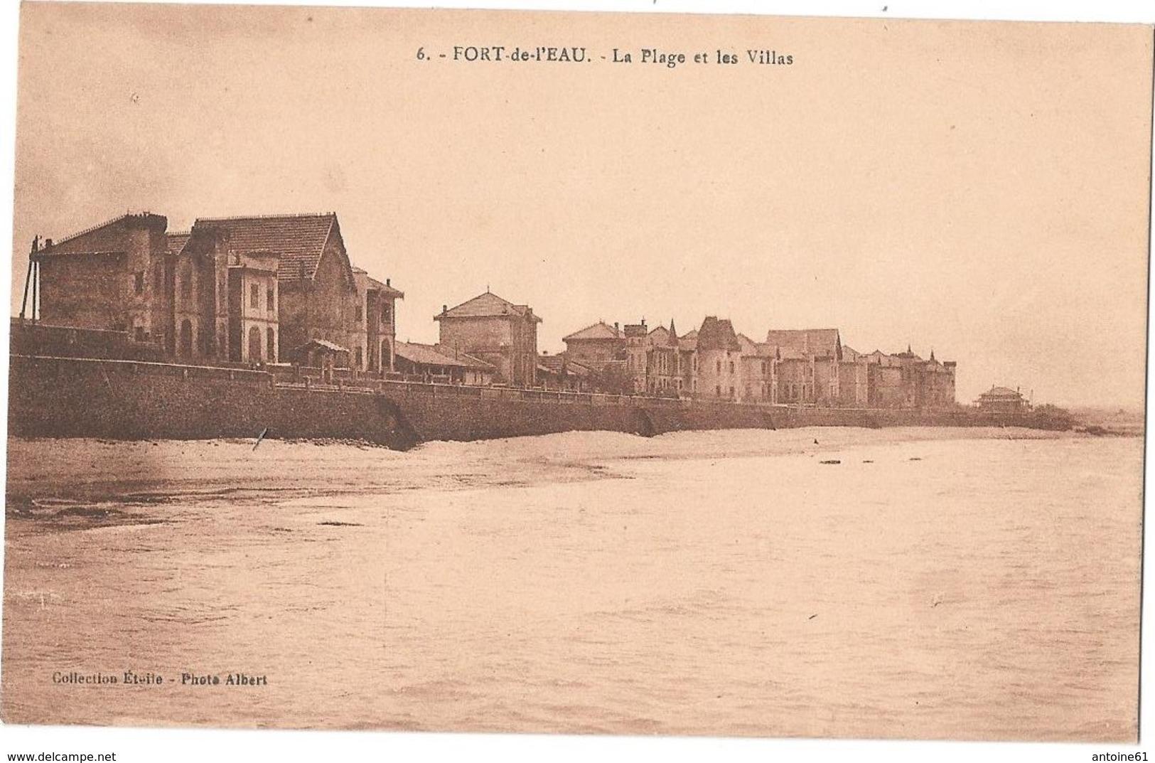 FORT-de-L'EAU -- La Plage Et Les Villas - Algérie