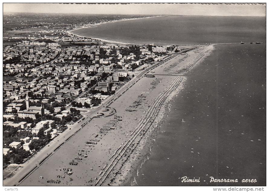 Italie - Rimini - Panorama Aereo - Rimini
