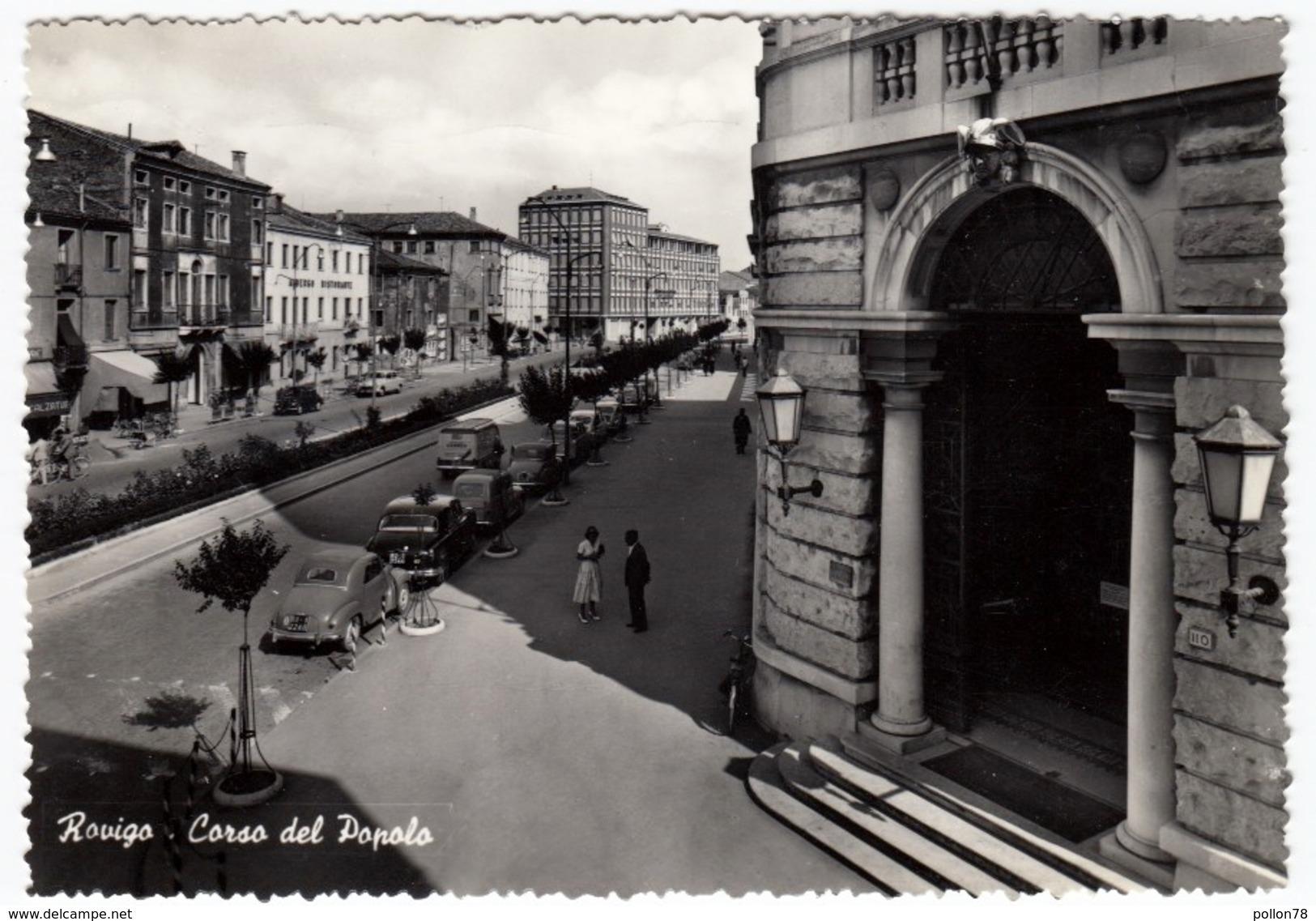 ROVIGO - CORSO DEL POPOLO - 1959 - Rovigo