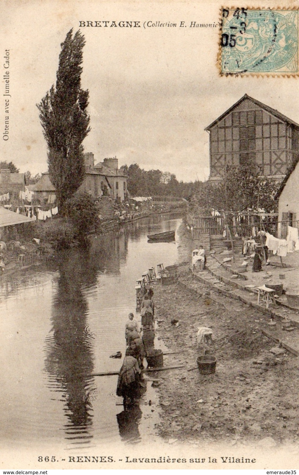 RENNES Lavandières Sur La Vilaine - Rennes