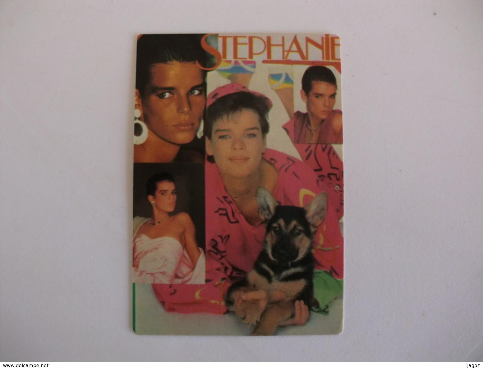 Stephanie Portugal Portuguese Pocket Calendar 1987 - Calendriers