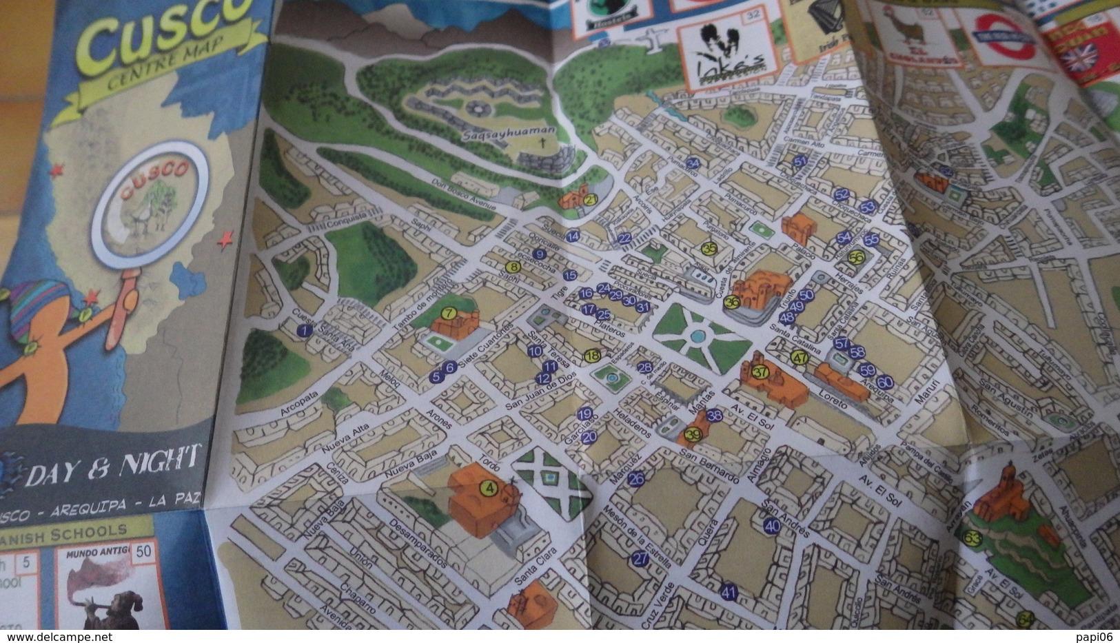 Perou. Plan De Ville. Cusco - Monde