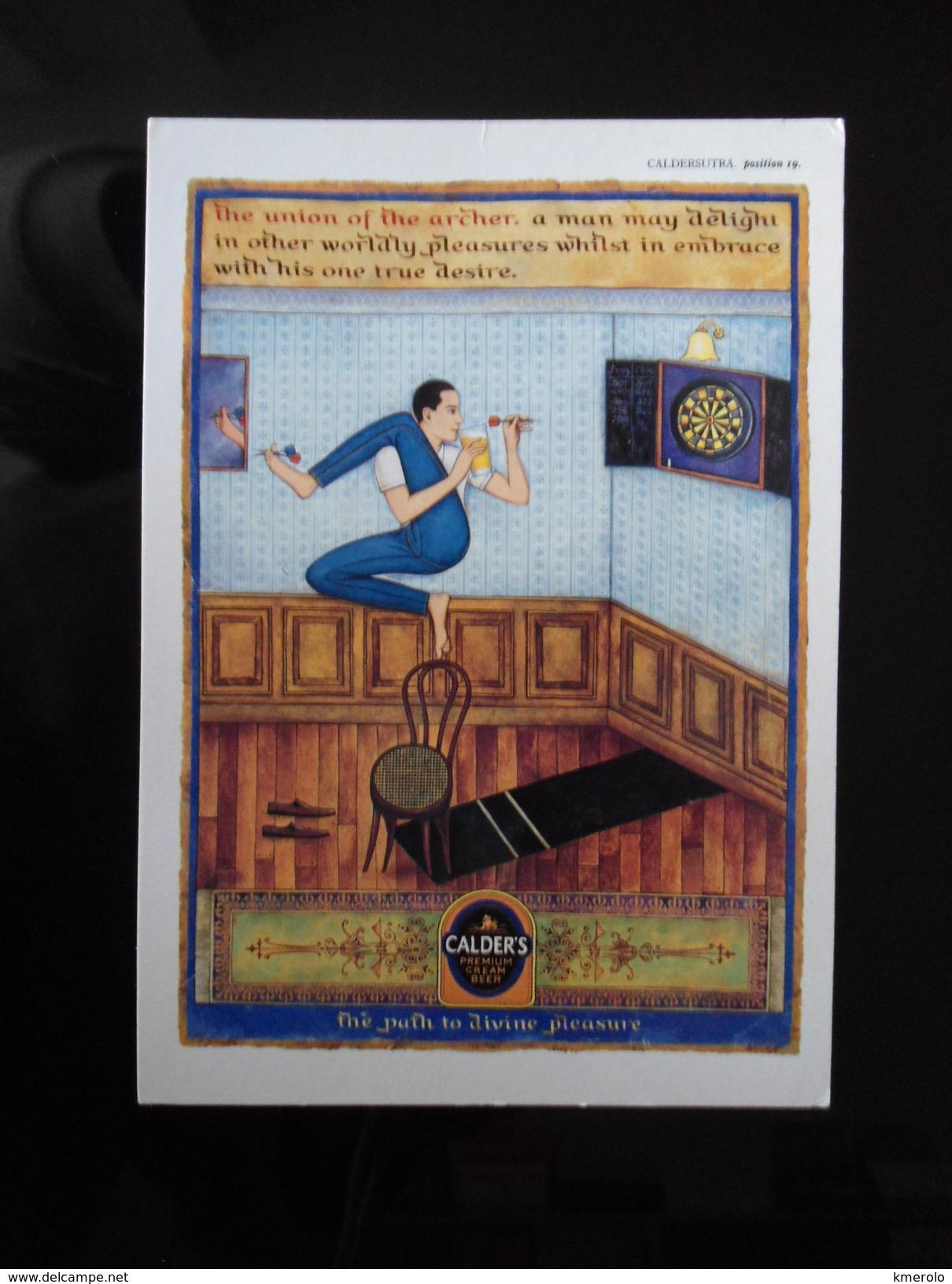CALDER'S Coffee Carte Postale - Jeux Et Jouets