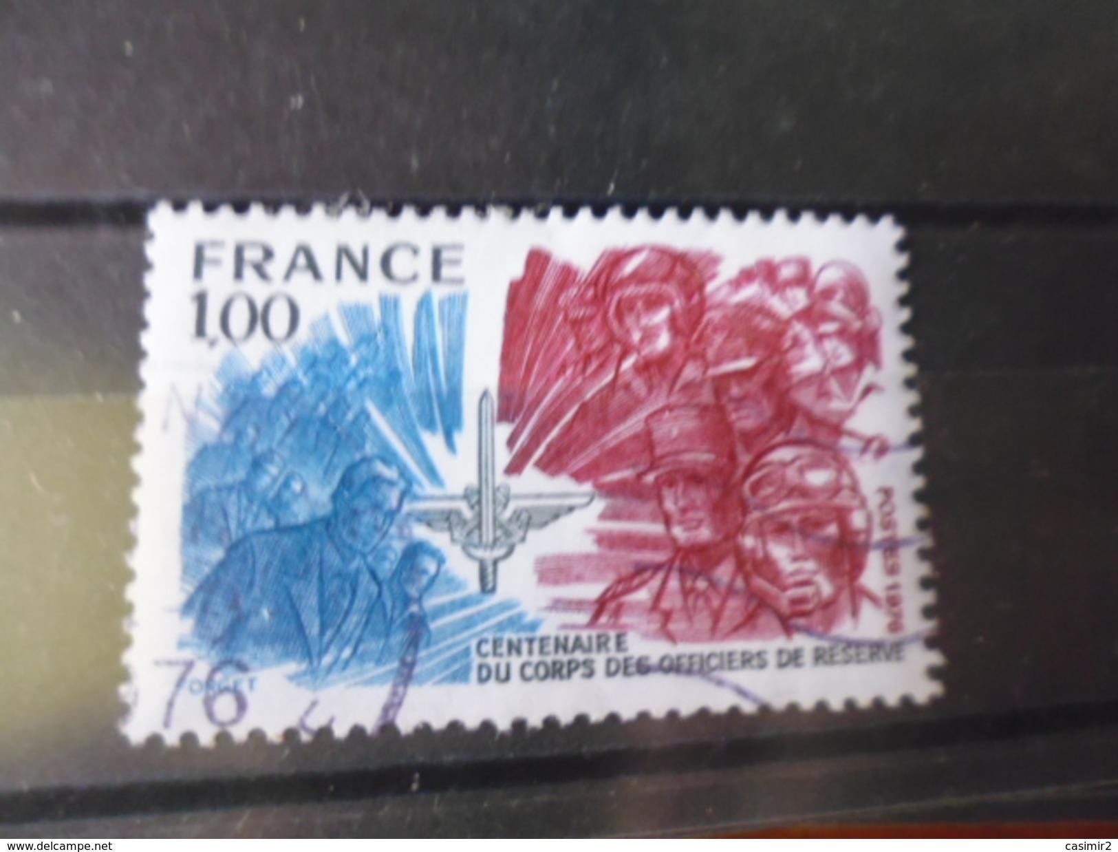 FRANCE OBLITERATION CHOISIE   YVERT N°1890 - Frankreich