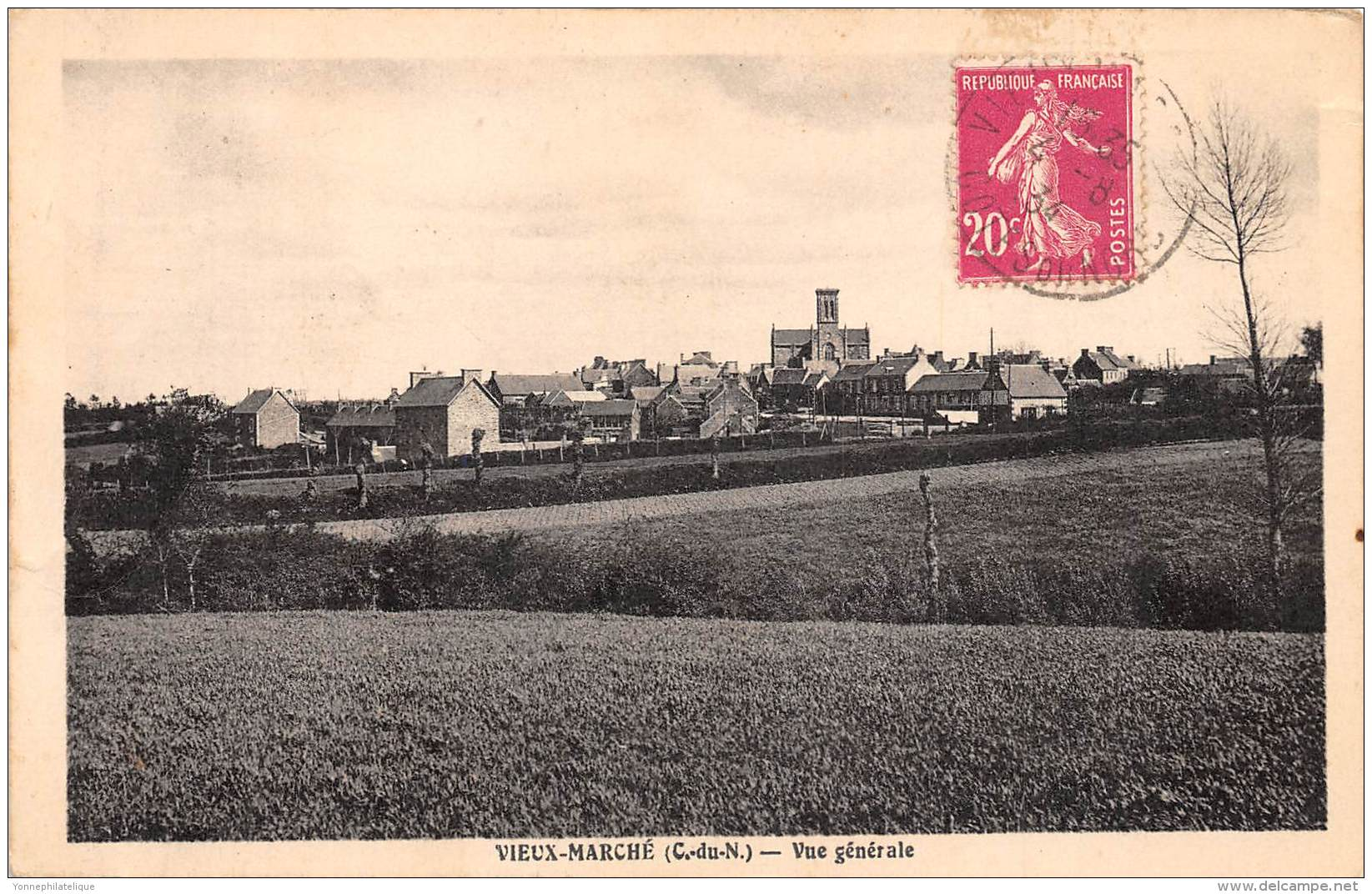 22 - COTES D'ARMOR / Vieux Marché - Vue Générale - Other Municipalities