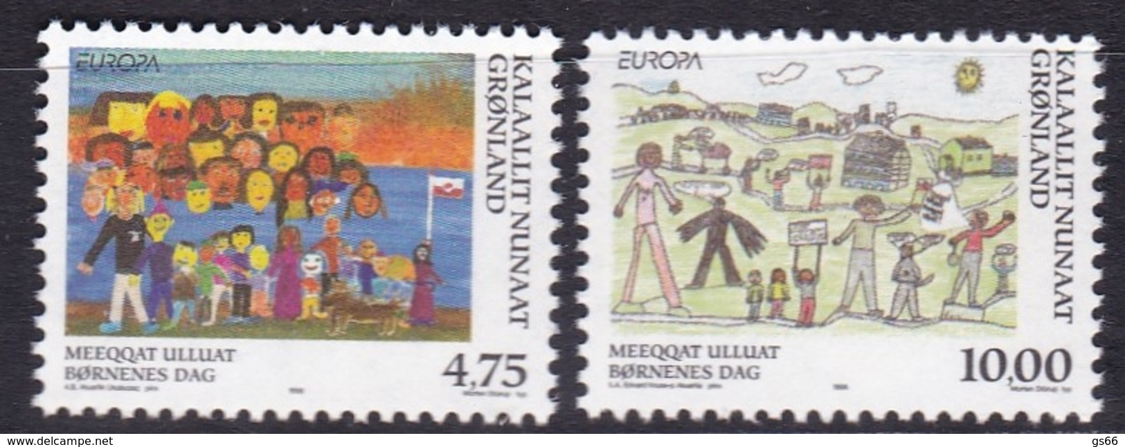 Grönland, 1998,  323/24, Europa: Nationale Feste Und Feiertage.  MNH **, - Groenland