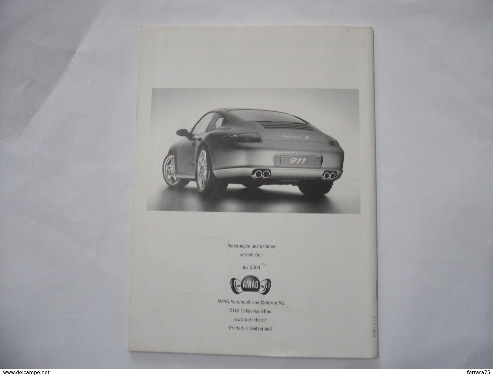 PORSCHE 911 CARRERA S LIBRO BOOK MANUALE 2004. - Automobili & Trasporti