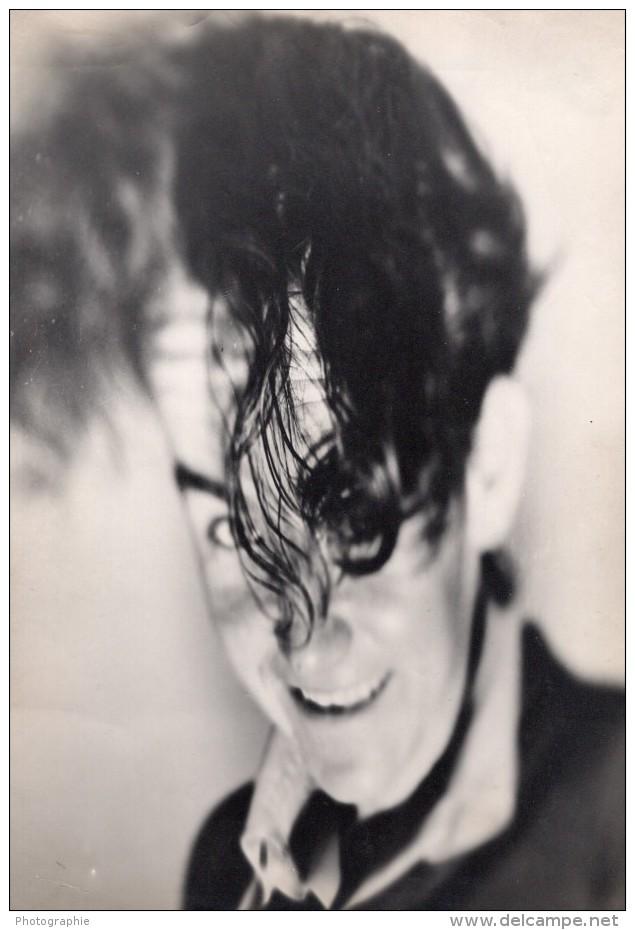 USA Ou France ? Portrait Psychedelique Etude Photographique Ancienne Photo 1960's - Photographs