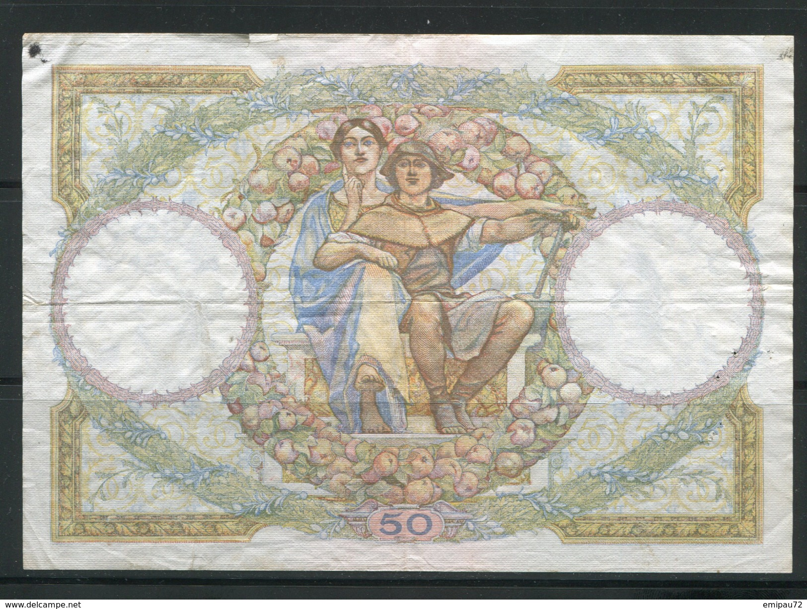 FRANCE- Vieux Billet (très Bon état) - 1871-1952 Anciens Francs Circulés Au XXème