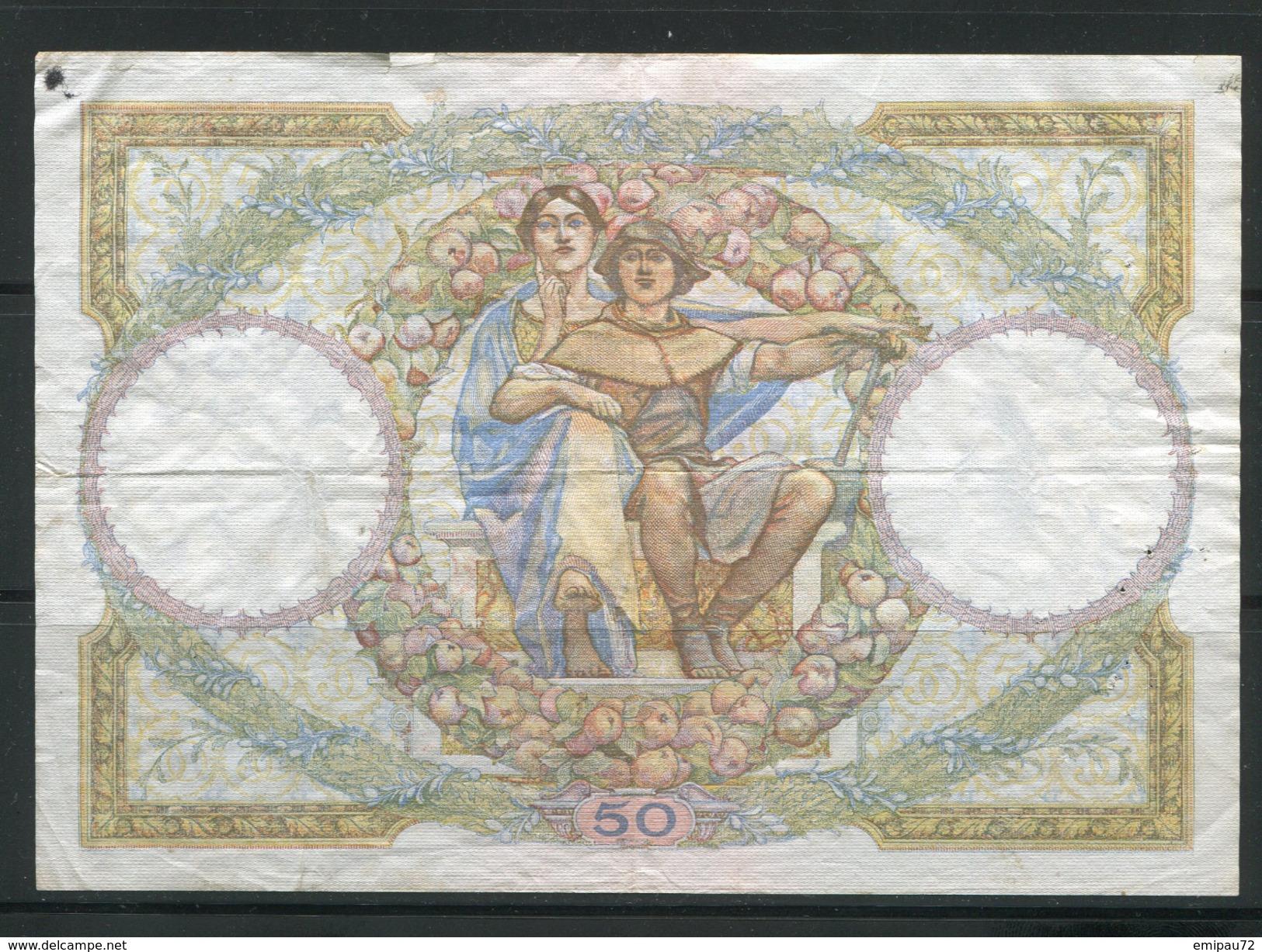 FRANCE- Vieux Billet (très Bon état) - 1871-1952 Circulated During XXth